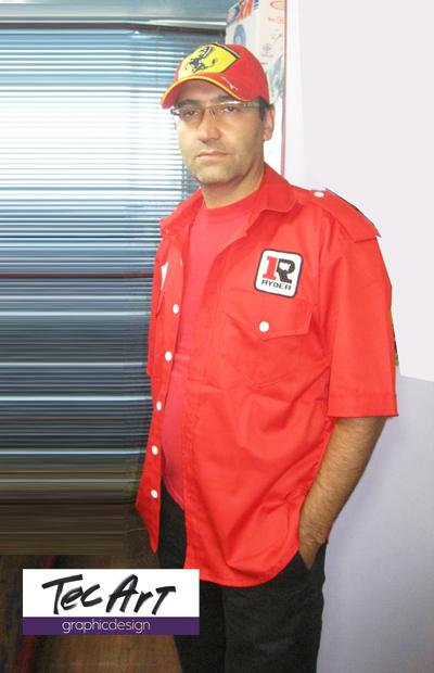 پیراهن مهندسی  پیراهن باشگاه  پیراهن تکنسین  پیراهن کار  5